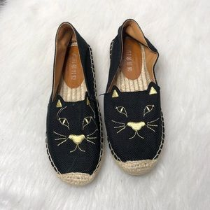 Black Cat Espadrilles | Size 38